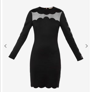 Ted Baker joyous bodycon dress uk size 4 us 10